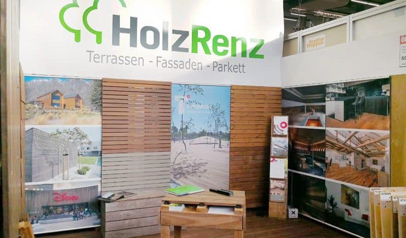 Messestand Holz Renz