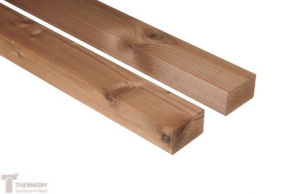 Holzterrasse Unterkonstruktion Thermofichte