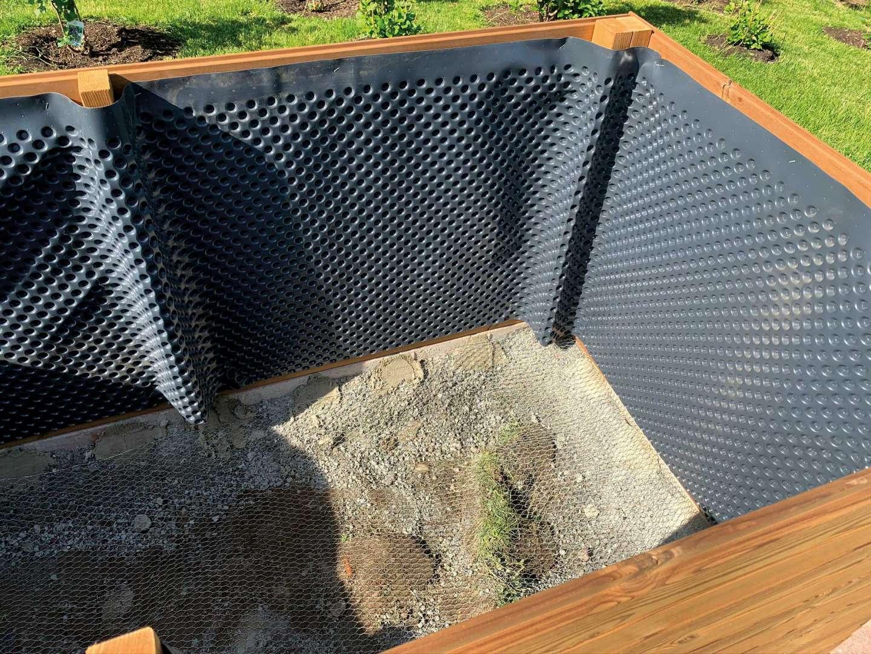 Hochbeet terrasse