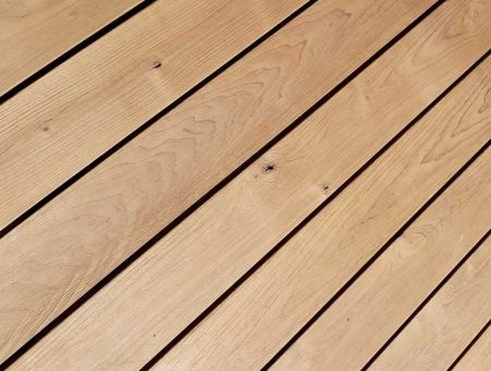 Wir testen neues Terrassenholz – Thermo Erle im Langzeittest