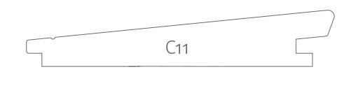 Profil Stülpschalung