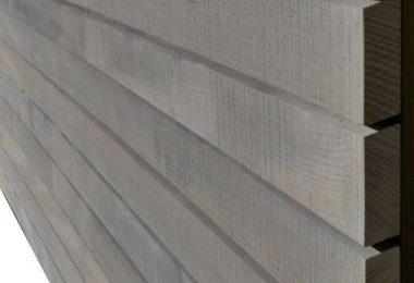 Fassadenbretter Weißtanne - Modul