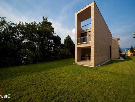 Weißtanne Fassade – NATUR – Rhombusschalung